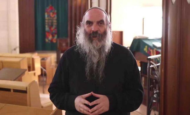 """הרב שפירא מצטרף לתמיכה בחזון: """"מאבק שלנו על הלב"""""""