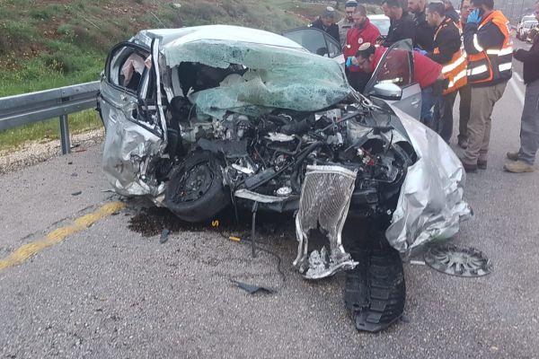 ההרוגים בתאונה ליד עלי: תושבי היישוב עפרה