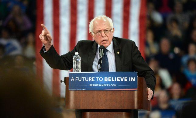 """הבחירות בארה""""ב: ברני סנדרס ניצח בניו המפשייר"""