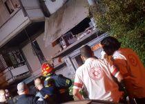 אשקלון: פיצוץ גרם לקריסת מרפסת; אשה נפצעה קשה