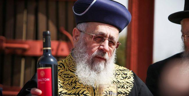 """הרב יצחק יוסף: """"זו לא ארץ נהדרת, ארץ אוכלת יושביה"""""""