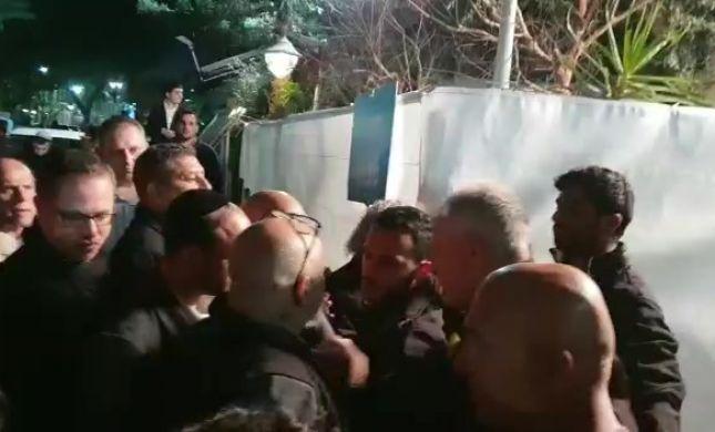 בלאגן בליכוד: האולם נסגר, העיתונאים נשארו בחוץ. צפו
