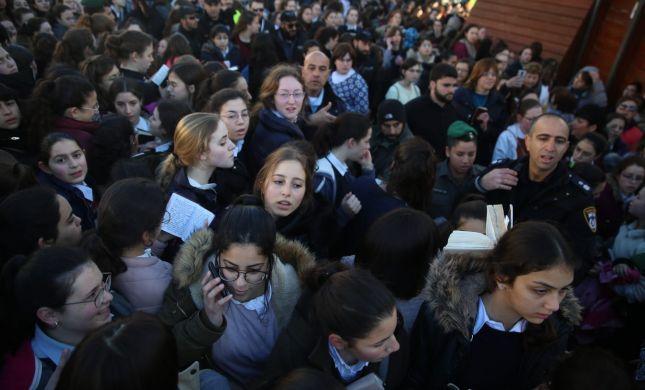 """המשטרה: """"נשות הכותל באו ליצור חיכוך ופרובוקציה"""""""