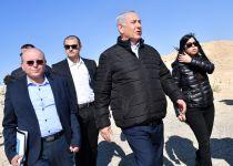 נתניהו בגבול בעזה: מזהיר את חמאס מחידוש התקיפות