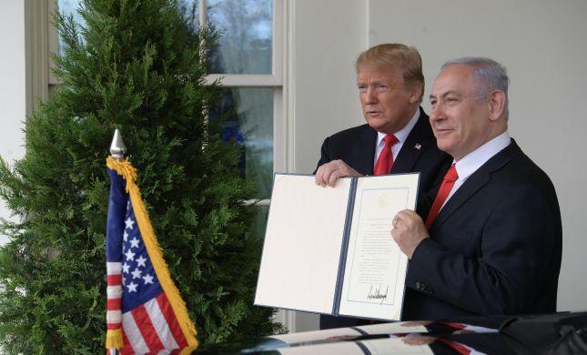 """הוקרה בגולן: הממשלה מציגה את """"רמת טראמפ"""""""