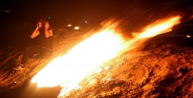 """צה""""ל תקף עמדות תצפית של חמאס, בתגובה למטען"""