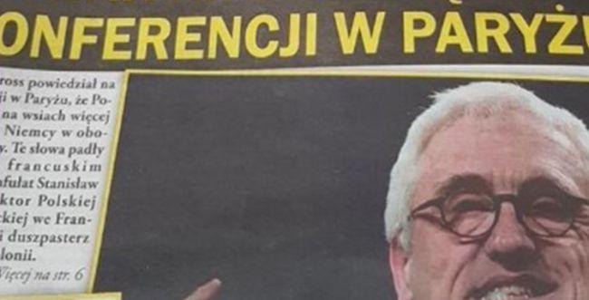 """זעם בפולין: פורסם מאמר בעיתון- """"כיצד לזהות יהודי"""""""
