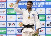 הג'ודאי שגיא מוקי זכה במדליית זהב בגראנד סלאם