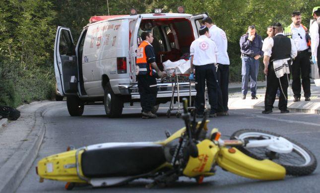 """חשד לפגע וברח בת""""א: עו""""ד מוכר נפגע שרכב על אופניו"""