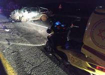 6 פצועים בתאונה קשה ליד עין זיתים; ביניהם 4 ילדים