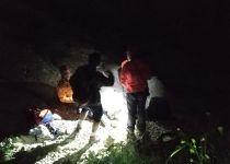צפו: חילוץ מטייל שנפצע בנחל 'תלכיד'