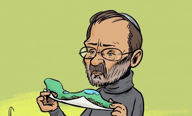 קריקטורה: פייגלין מעדיף קנאביס על ממשלת ימין