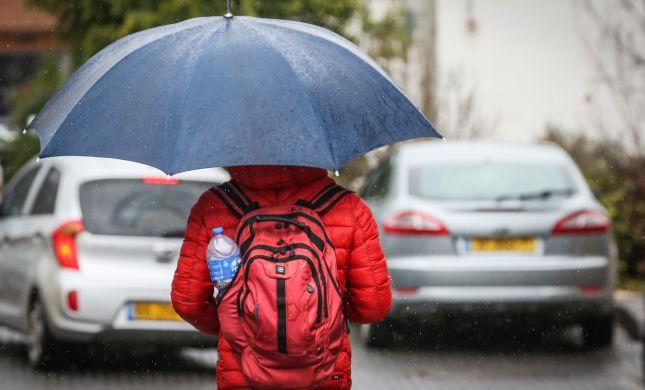 גם מחר יהיה גשום. תחזית מזג האוויר לימים הקרובים