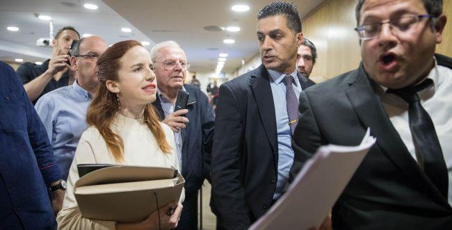 """נעצר תושב מזכרת בתיה שאיים על ח""""כ סתיו שפיר"""