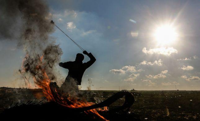 """שבת מתוחה בדרום: רקטה שוגרה מעזה, צה""""ל תקף בתגובה"""