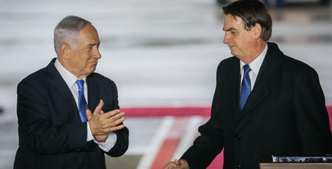 """נתניהו קיבל את נשיא ברזיל: """"עידן חדש של יחסים"""""""