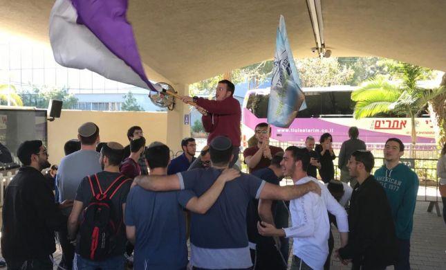 צפו: בשירה וריקודים חיילי ההסדר מרץ 19' התגייסו