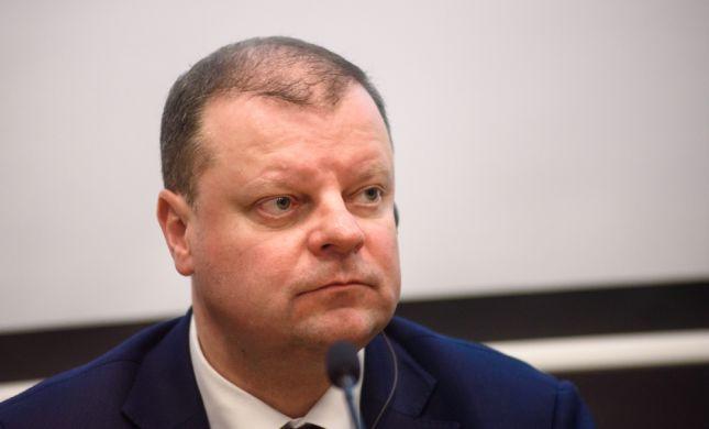 """ראש ממשלת ליטא: """"אשקול להעביר את השגרירות לי-ם"""""""