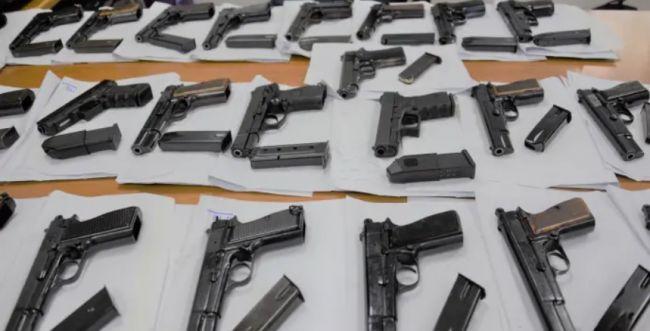 הותר לפרסום: סוכלה הברחה של כלי נשק מירדן