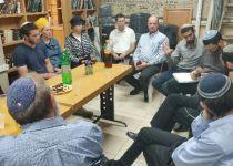 """במהלך החג: הושחתה ישיבתו של הרב אטינגר הי""""ד"""