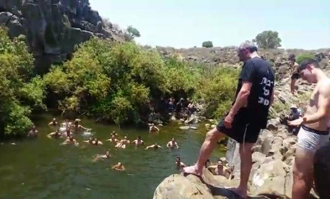 צפו: הרב פרץ 'קופץ למים העמוקים' לקול תשואות