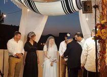 הבן של אופק בוכריס והבת של עופר וינטר התחתנו