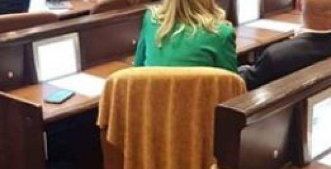 אחרי דחיית בקשתה: כך נראה הכסא של חיימוביץ'
