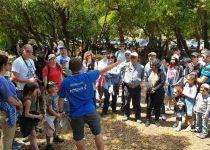 הצלחה לפרוייקט פסח ישראלי: 17,000 מטיילים