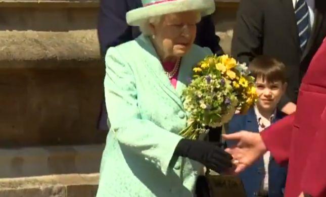 צפו: בריטניה מאחלת יום הולדת שמח למלכה