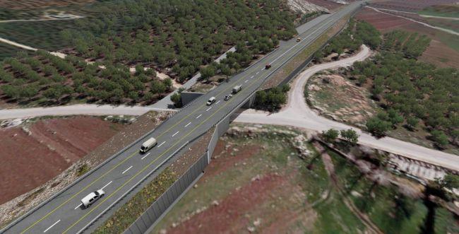 עוקף חווארה: לבחון כביש דו נתיבי ודו מסלולי