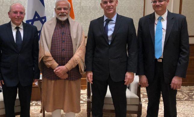"""משלחת המל""""ל להודו איבדה מסמכים מסווגים"""