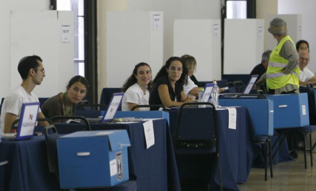 נכון לשעה 13:00: אחוז ההצבעה מתחיל לטפס