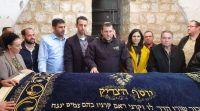 חדשות, חדשות פוליטי מדיני, מבזקים חברי הכנסת החדשים ביקרו הלילה בקבר יוסף