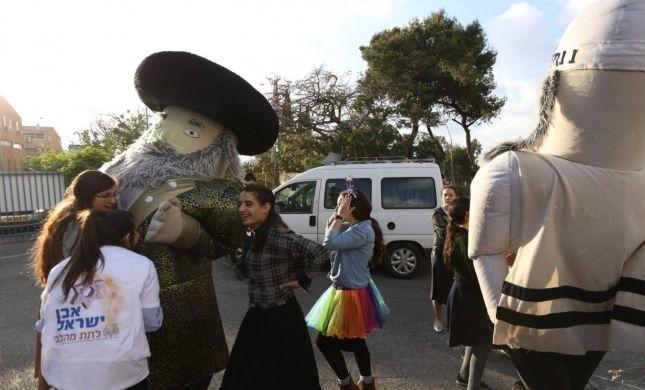 מרגש: עמותת 'אבן ישראל' משמחת את חניכות 'שתילים'