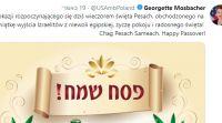 ויראלי, מבזקים השגרירה בירכה חג שמח וקיבלה תגובות אנטישמיות