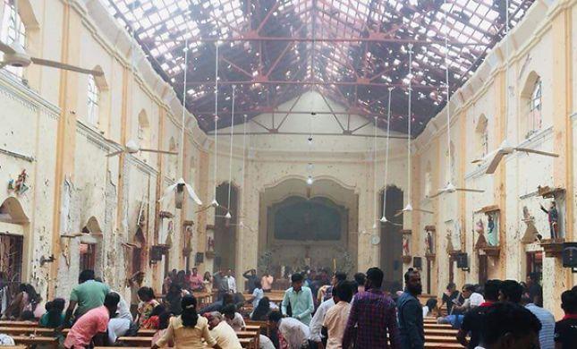 סרי לנקה: עשות נפגעים בפיצוצים במלונות בכנסיות