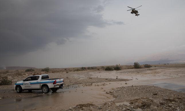 מזג האוויר: משטרת ישראל נערכת לשיטפונות
