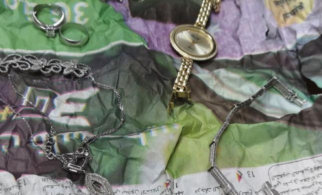 המנקה הערבי גנב את תכשיטי החתן והכלה ונתפס