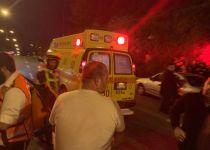 הפצוע בתאונת הפגע וברח בי-ם נותר במצב אנוש