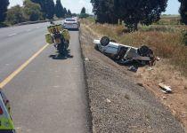תאונה ליד אשקלון: אישה ובתה הובהלו לבית חולים