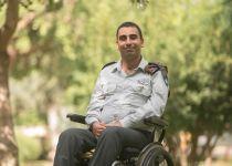 """משואת צה""""ל: הקצין שנפצע אנוש בצוק איתן והשתקם"""
