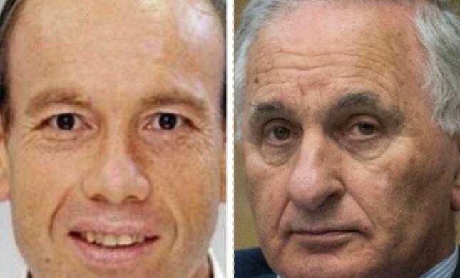 המועמדים למבקר המדינה: מתניהו אנגלמן וגיורא רום