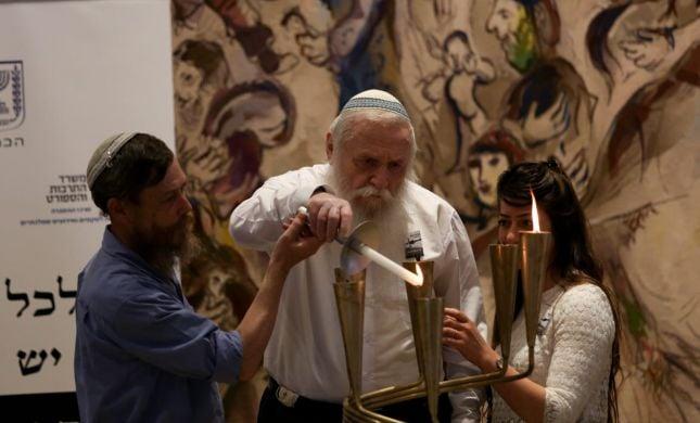 """הרב דרוקמן ומשפחתו לסרוגים: """"עצם הזיכרון מרגש"""""""