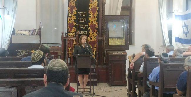 """הרב פרץ במפגש הבית היהודי: """"פנינו אל כל הציונות הדתית"""""""