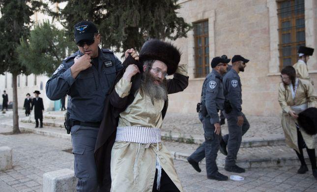 חסמו וזרקו אבנים: 10 חרדים קיצוניים נעצרו בשבת