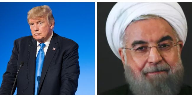 """טראמפ: """"מקווה שלא תהיה מלחמה עם איראן"""""""