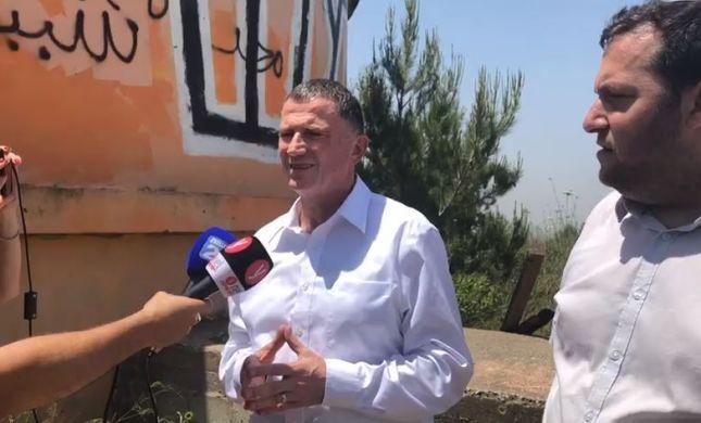 אדלשטיין מצהיר: נבטל את ההתנתקות בצפון השומרון