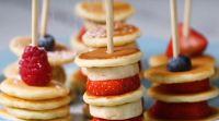 אוכל, מתכונים חלביים משהו קטן וטוב: מתכון פשוט למיני פנקייק