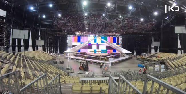 תאונת עבודה במתחם האירוויזיון: פועל נפצע קשה
