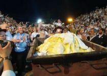 צפו: ההדלקה המסורתית של הציונות הדתית במירון